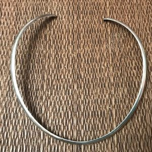 Jewelry - Vintage Sterling Silver Choker Necklace